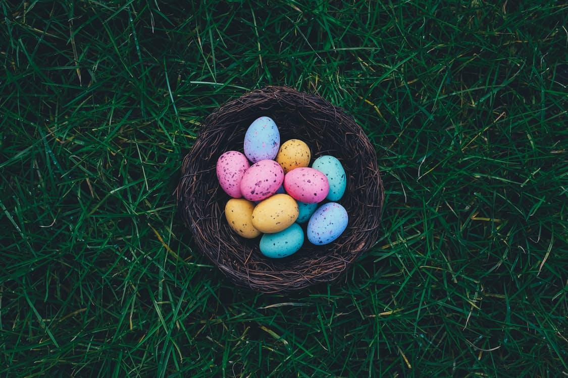 East eggs